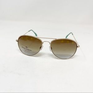 JUICY COUTURE STARRY EYED AVIATOR Sunglasses